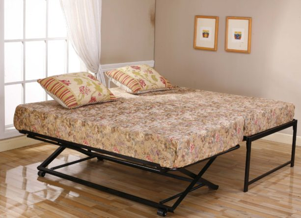twin size to king pop up trundle bed