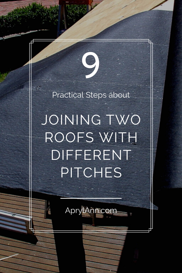 Joining Two Roofs With Different Pitches