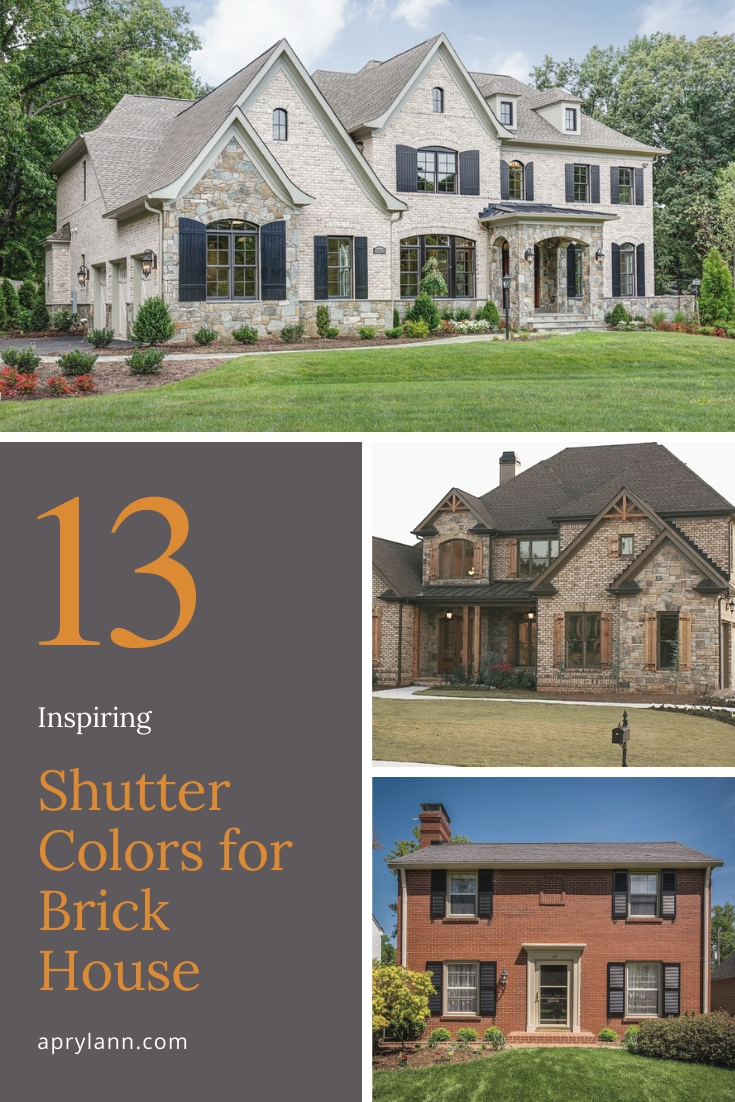 13 Inspiring Shutter Colors For Brick House To Create An Amazing Exterior Aprylann,Multiple Tablet Charging Station