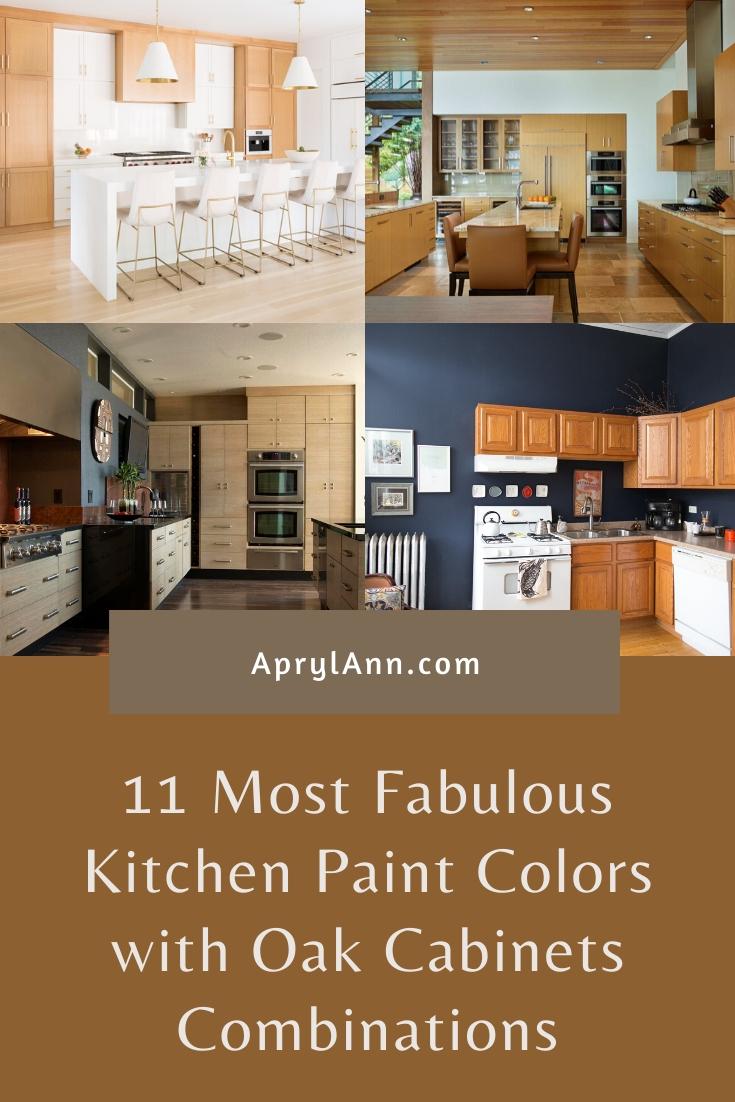 9 Most Fabulous Kitchen Paint Colors with Oak Cabinets ...