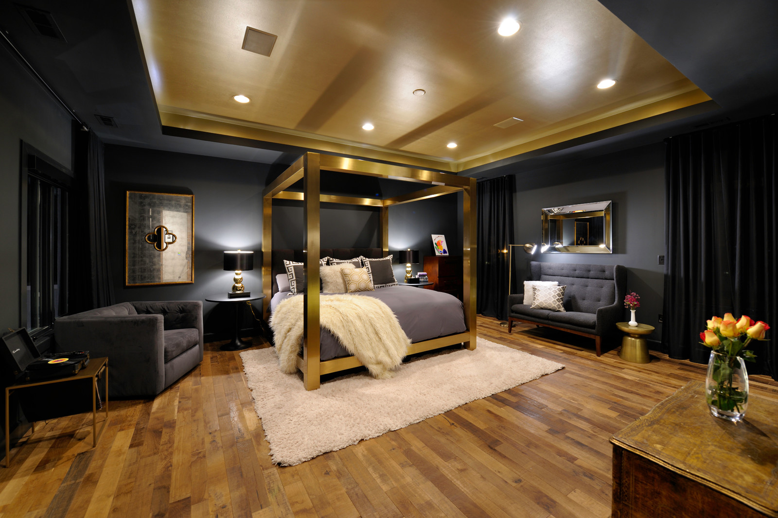 7 luxurious black and gold bedroom ideas to imitate  aprylann