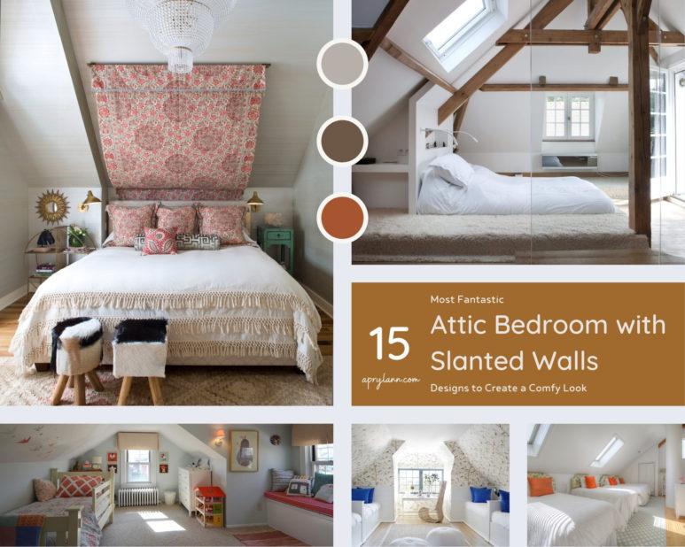 15 Most Fantastic Attic Bedroom With Slanted Walls Designs