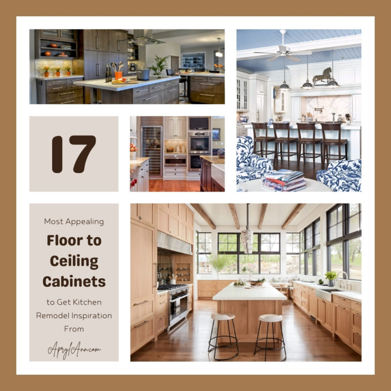 17 Most Appealing Floor To Ceiling Cabinets To Get Kitchen Remodel Inspiration From