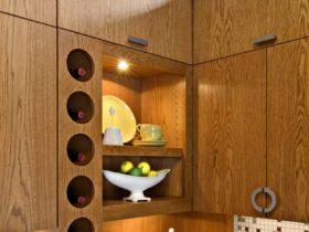 corner display rack